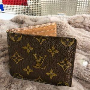 Louis Vuitton Authentic Wallet Brown Monogram